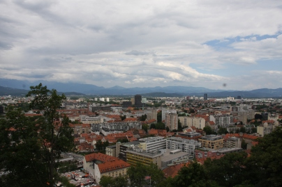 Overview of the city (taken from the castle)
