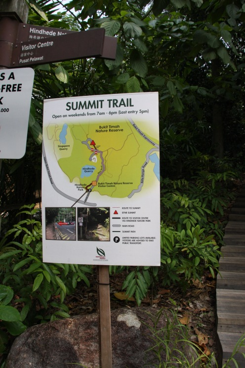 Summit trail